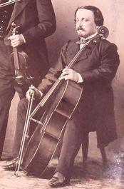 Antoine Oudshoorn (1833-1906), violoncellist