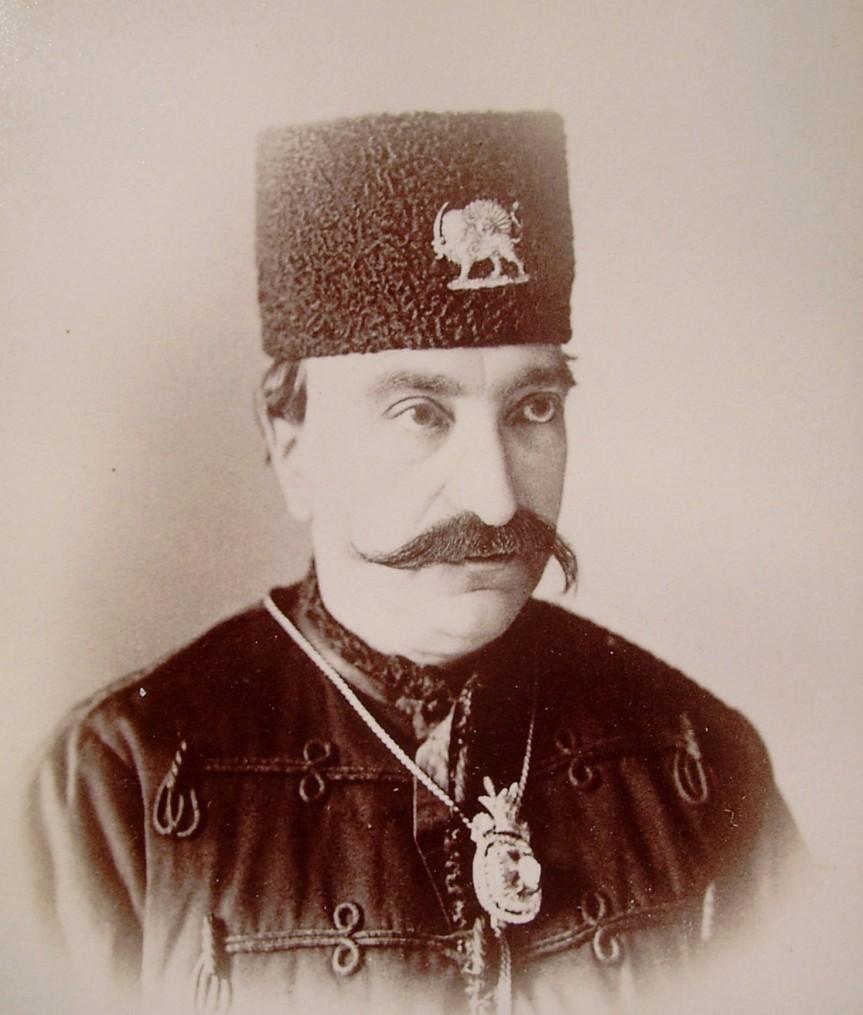 Naser al-Din Shah Qajar (1831-1896), King of Persia