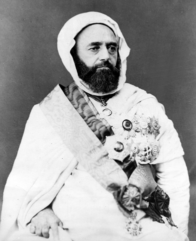 "Abd-el-Kader ""el Djezairi"" (1808-1883), Algerian religious and military leader"