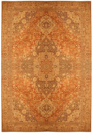 Antique Tabriz Rug from Ziegler - Late 19th Century - Source Nazmiyal Collection