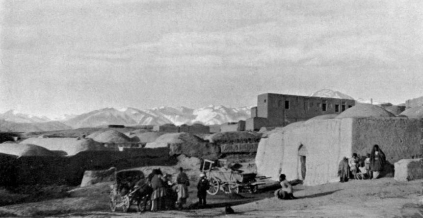 Example of a Chapar Khaneh - On the road to Tehran - in Williams, Eliot Crawshay, Across Persia, London, Edward Arnold, 1907