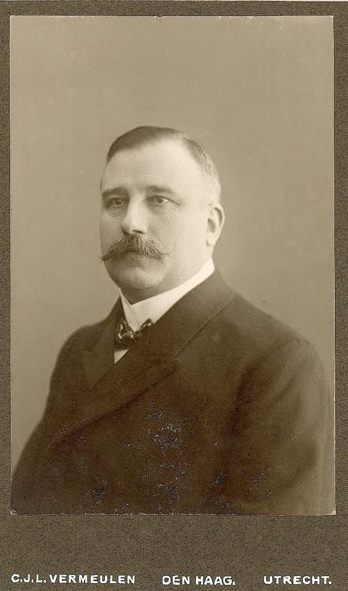 Georg Frederik baron thoe Schwartzenberg en Hohenlansberg (1864-1945), president arrondissementsrechtbank Middelburg