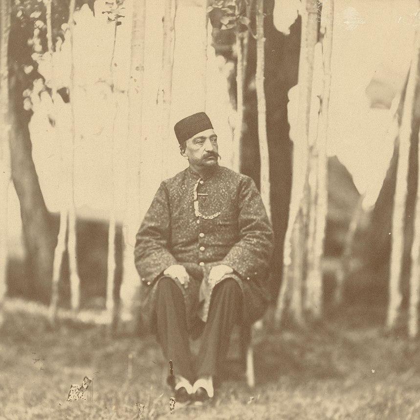 Naser al-Din Shah - unknown photographer