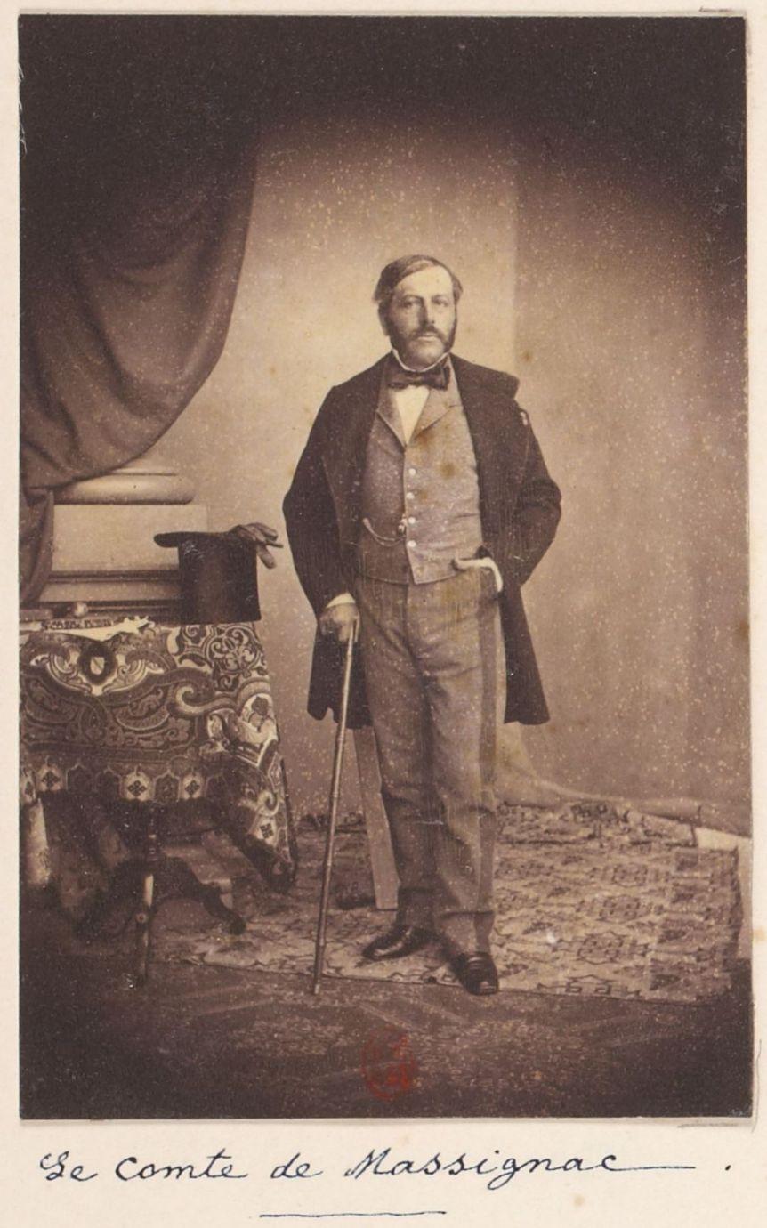 Jacques-Adolphe Cousseau, comte de Massignac (1815-1879)