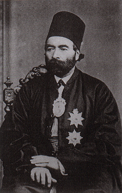 Emam Qoli Mirza (1814-1875, governor of Kermanshah B-W