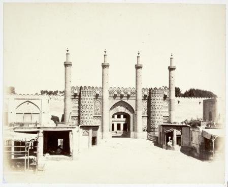 GATES TEHRAN - Porta della Cittadelle 1862 by Luigi Montabone - Biblioteca Marciana