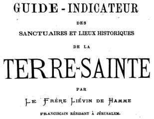 Guide-Indicateur - Liévin de Hamme - couverture