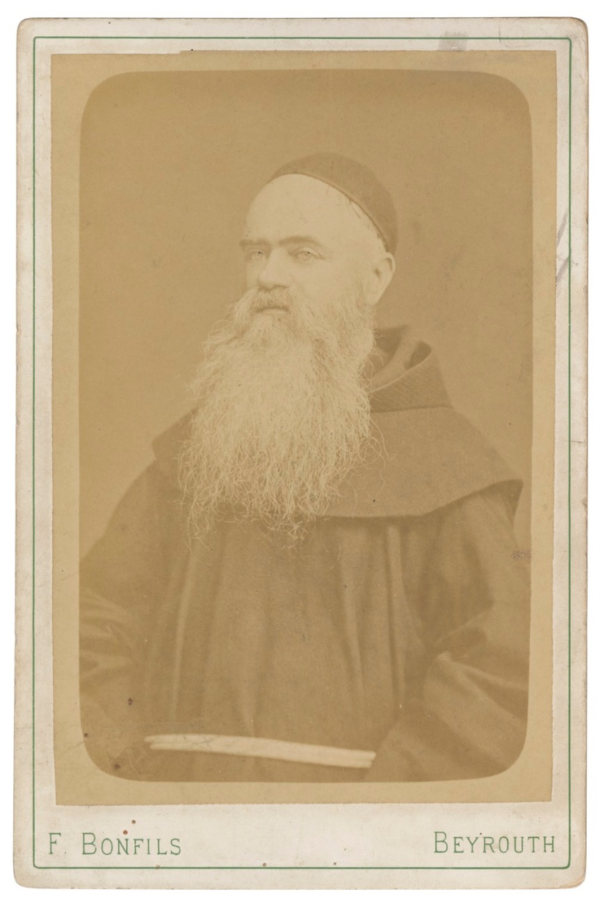 Edouard Colleman, alias Liévin de Hamme (1822-1898) - Photography by Félix Bonfils - The Fouad Debbas Collections - Ref. EAP644/1/69: Cabinet Cards
