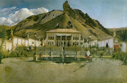 Shahrestanak Palace - by Kamal ol-Molk