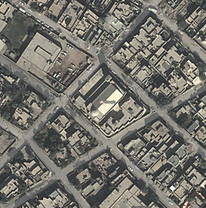 st-josephs-cathedral-baghdad-map