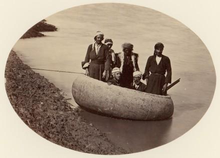Baghdad boat - 1870