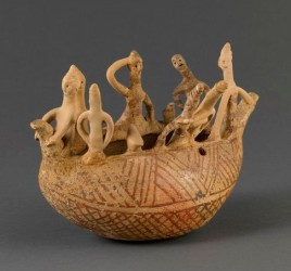 Baghdad boat - Pottery 2000 BC