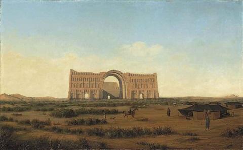 Ctesiphon by Sandor Alexander Svoboda (1826 - 1896)