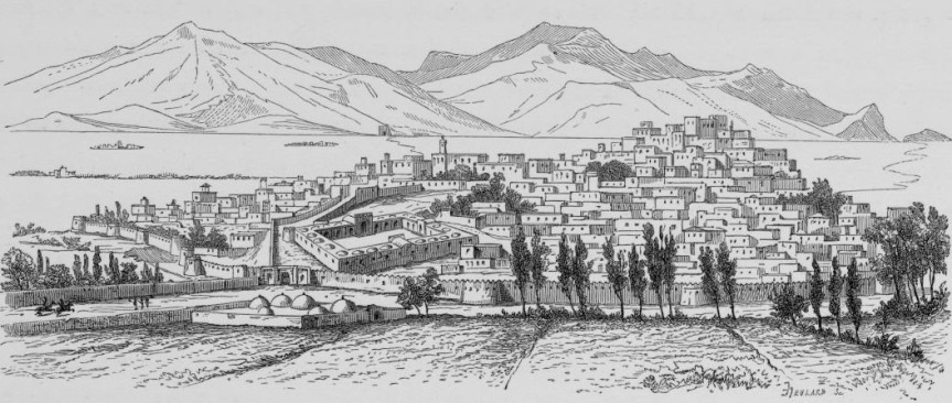 Kermanshah by Pascal Coste - 1840