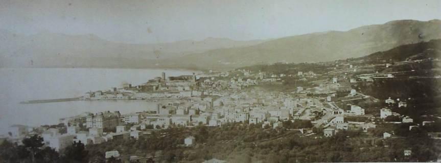 Musée Lycklama - Vue de Cannes 1869